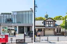 反差超大《原宿車站新舊對比》現代化的全新站房讓人驚呼這是我認識的原宿站嗎...